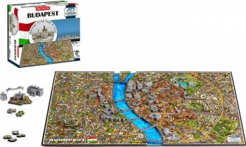 BUDAPEST Puzzle 4D Cityscape Jucarii Interactive