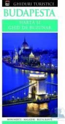 Budapesta - Harta si ghid de buzunar