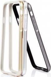 Bumper TPU Metalizat OEM iPhone 6 Silver Huse Telefoane