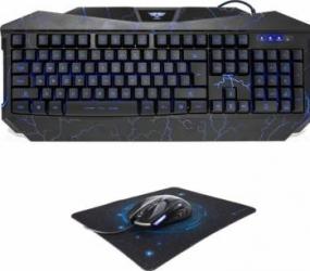Bundle Gaming Tastatura Newmen GL800 v2 + Mouse Newmen 500 + Mouse Pad Newmen MP235