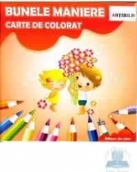 Bunele maniere - Carte de colorat