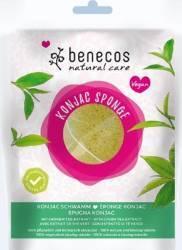 Burete Benecos Konjac cu ceai verde pentru ten mixt sau uscat Accesorii Cosmetice