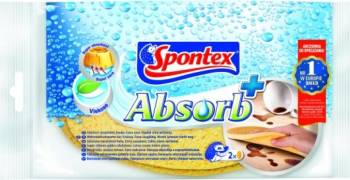 Burete de vase Spontex Absorb + 2buc Curatenie Bucatarie