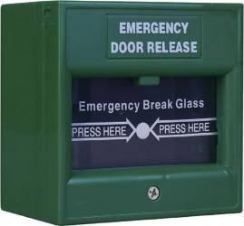 Buton iesire urgenta ND-EDR911 Verde Accesorii alarme