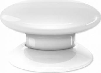 Buton multi-controller Fibaro Alb Kit Smart Home si senzori