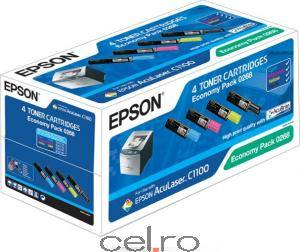 Toner Epson Economy Pack C1100 CX11N series