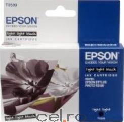 Cartus Epson C13T605900 Light-Light Black 110 ml Stylus Pro 4800 4880