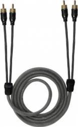 Cablu Aiv RCA 2 canale 1.5m Transparent
