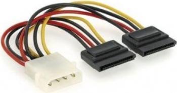 Cablu Alimentare 2 x SATA Gembird 15 cm Cabluri Componente