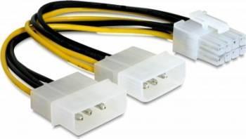 Cablu alimentare Delock PCI Express 8 pini Cabluri Componente