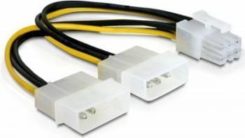 Cablu alimentare placa PCI Express Delock 82315 15cm Cabluri Componente