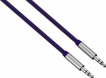 Cablu Audio Hama ColorLine Jack 3.5mm 1m Albastru Cabluri Audio