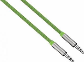 Cablu Audio Hama ColorLine Jack 3.5mm 1m Verde Cabluri Audio