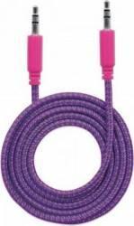 Cablu Audio Manhattan Stereo 3.5mm 1.8m Mov/Roz Cabluri Audio