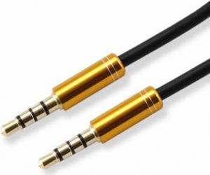 Cablu audio SBOX 3.5mm-3.5 mm - 1.5 m Gold Cabluri Audio