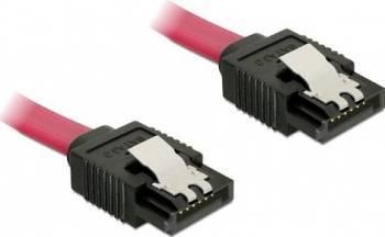 Cablu Date Delock 82676 Sata 3 la Sata 3 30 cm Rosu Cabluri Componente