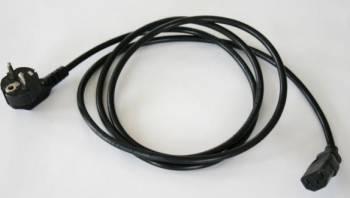 Cablu de alimentare 180 cm Negru Cabluri Periferice