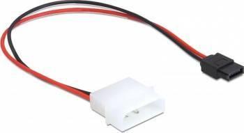 Cablu de alimentare Delock 82913 Molex la SATA 6 pini Cabluri Componente