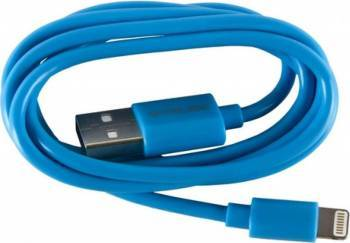 Cablu De Date Serioux Lightning MFI 1M Albastru Cabluri telefoane mobile