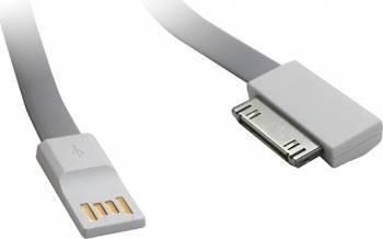 Cablu de date Vojo iMagnet 3 iPhone 4 0.2m Gri