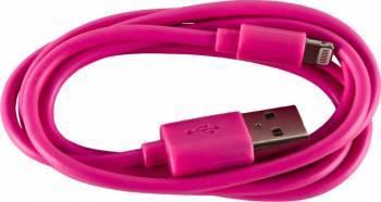 Cablu De Date Serioux Apple Lightning MFI 1M Roz Cabluri telefoane mobile
