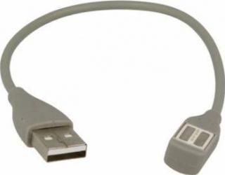 Cablu de incarcare Jawbone UP2 UP3 UP4 23cm Grey Accesorii Smartwatch
