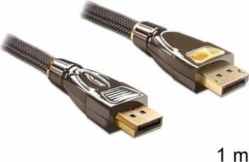Cablu Delock Displayport 1.2 Premium 1m Cabluri Video