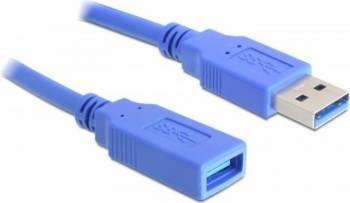 Cablu Delock Extensie USB 3.0 T - M 1m Cabluri Periferice