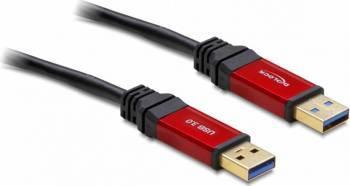 Cablu Delock USB 3.0 T-T Premium 2m Cabluri Periferice