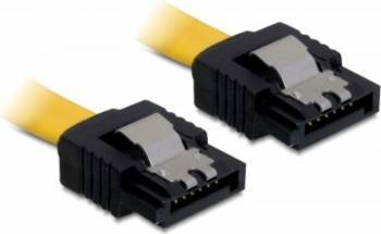 Cablu Delock SATA 2 Drept cu fixare 20 cm Cabluri Componente