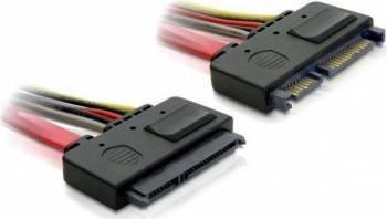 Cablu Delock SATA extensie 20cm Cabluri Componente