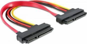 Cablu Delock SATA M-M 20cm Cabluri Componente