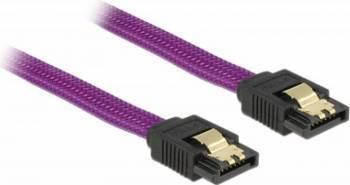 Cablu Delock SATA3 drept 30cm Cabluri Componente