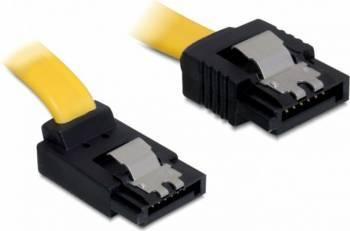 Cablu Delock SATA3 unghi drept/jos 20cm Cabluri Componente