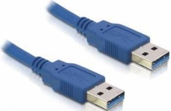 Cablu Delock USB 3.0 AM - AM 5m Albastru Cabluri Periferice