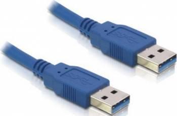 Cablu Delock USB 3.0 AM - AM 1,5m Albastru Cabluri Periferice