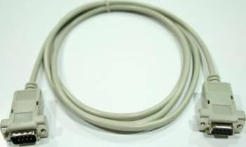 Cablu extensie serial 9 tata - 9 mama 200cm Alb Cabluri Periferice