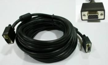 Cablu extensie SVGA HD15 mama - HD15 tata 600 cm Negru Cabluri Video