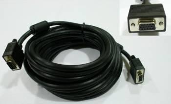 Cablu extensie SVGA HD15p mama - HD15 tata 300 cm Negru