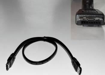 Cablu extern eSata I tata - I tata 75 cm Negru Cabluri Componente