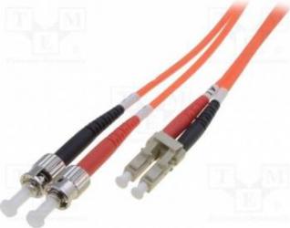 Cablu Fibra Optica Multimodal Digitus LC-ST Duplex 1m Cabluri Retea