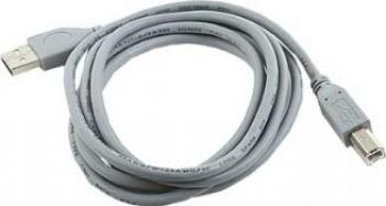 CABLU Gembird USB 2.0 A - B 1.8m calitate premium Gri Cabluri Periferice