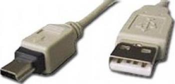 CABLU Gembird USB 2.0 A - mini 5PM 1.8m Cabluri Periferice