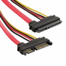 Cablu HDD 4World 29 pin SAS - 7pin SATA LP4 45cm Rosu Cabluri Componente