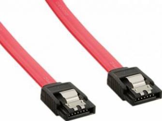 Cablu HDD 4World SATA 3 45cm Rosu