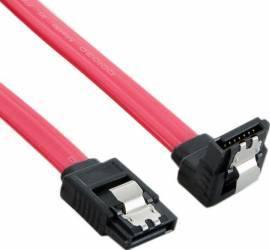 Cablu Hdd Blocare 4world Sata3 30cm Rosu
