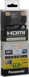 Cablu HDMI Panasonic tip 1.4 C 1.5 metri Negru