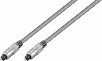 Cablu Hometheater optic Toslink 5m Gri Cabluri Audio