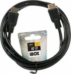 Cablu I-BOX HDMI To HDMI FullHD 1,8m v1.4 Cabluri TV