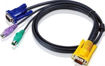 Cablu KVM Aten 2l-5202P 1.8M Accesorii KVM
